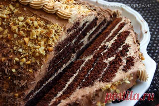 "Торт ""Шоколадная пирамида""."