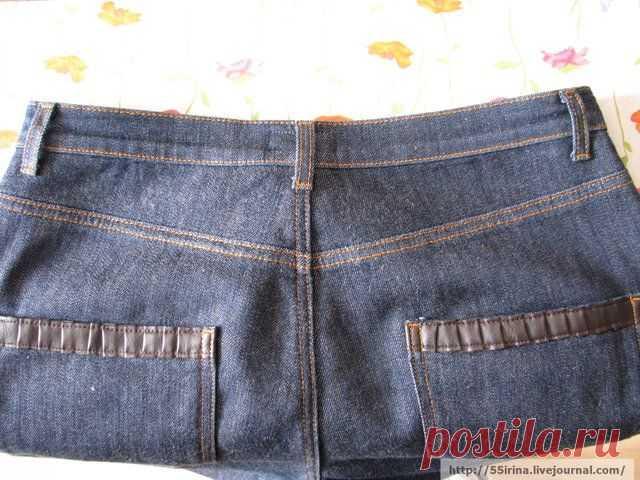 """Как ушить пояс в джинсах и что такое """"тонкая талия""""."""