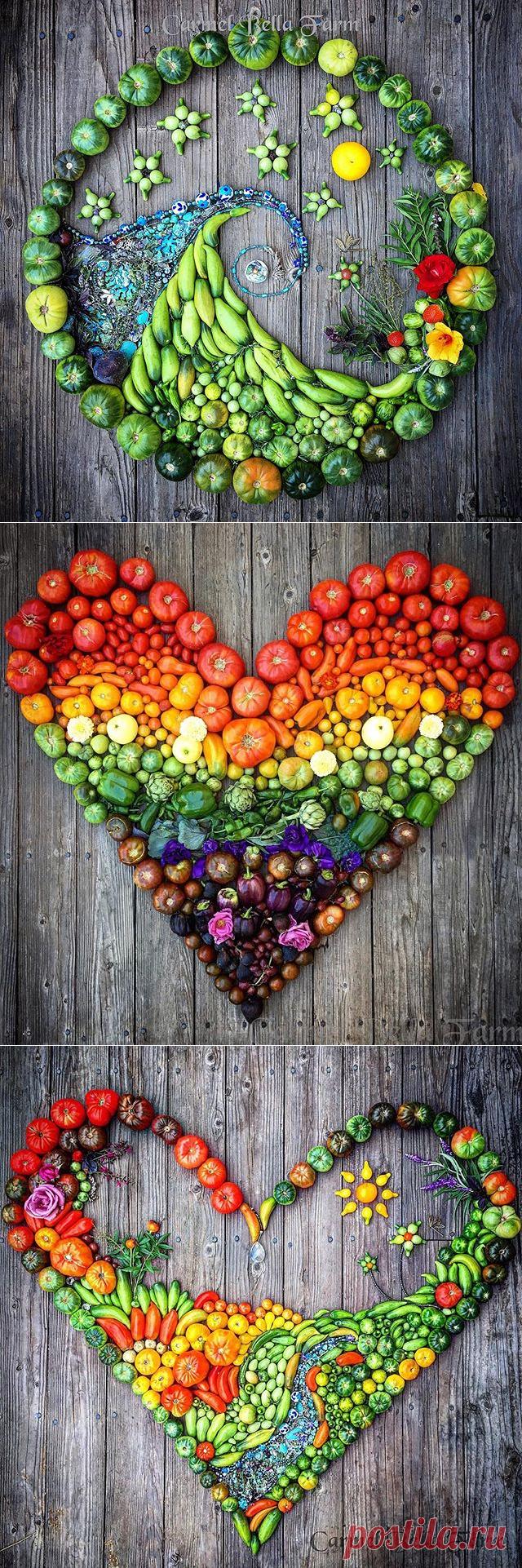 Идеи картин для кухни: вдохновляющие овощи — Сделай сам, идеи для творчества - DIY Ideas