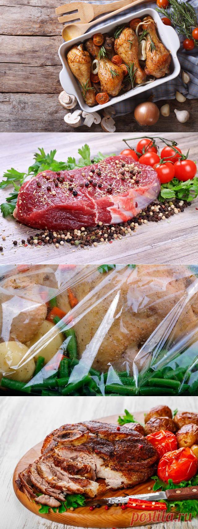 Вкусные способы запекания мяса