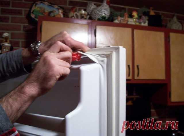Как заменить резиновый уплотнитель в холодильнике — Полезные советы