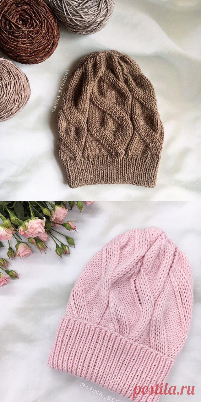 вязаные шапки At Annabermont фото и видео в Instagram мастера