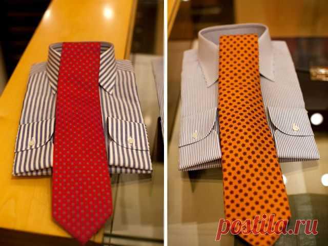 Про подбор рубашки к галстуку / Мужская мода / Модный сайт о стильной переделке одежды и интерьера