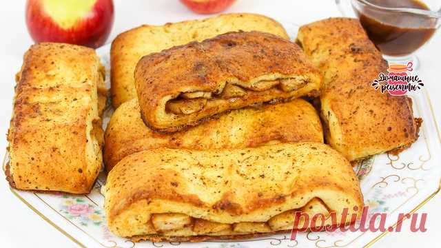 Сочные бисквиты с яблоками – пошаговый рецепт с фотографиями