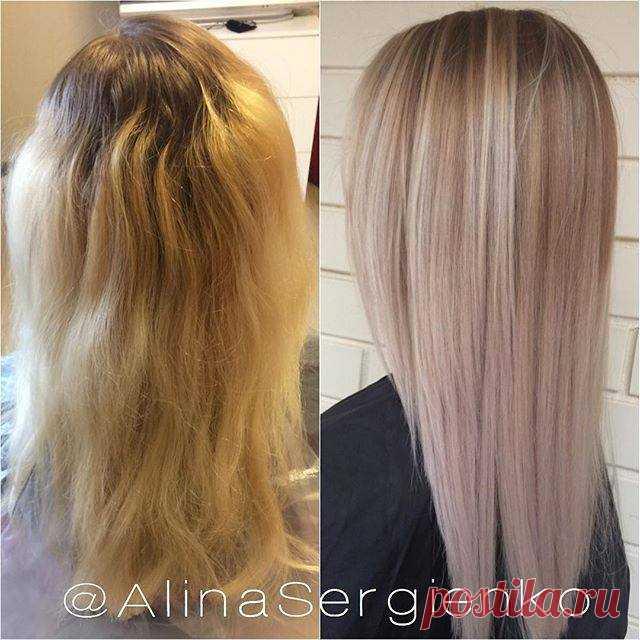 ✂🎀 Цвет волос, способный сбросить 10 лет, плюс чудо-средство, которое позволит окрашенным волосам выглядеть на все 100. Посмотрите и почувствуйте разницу ✂🎀