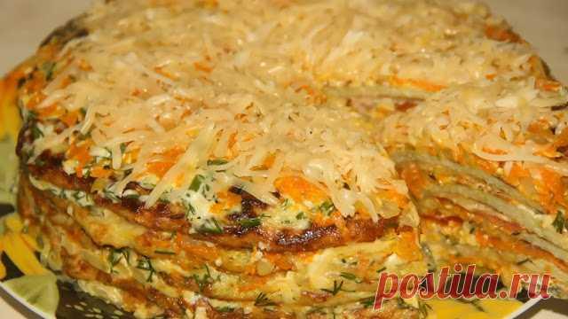 Классные рецепты: Торт из кабачков