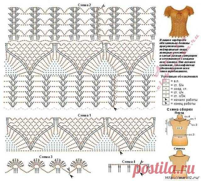 Сделать схему к вышивке