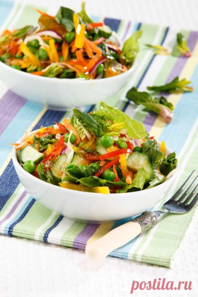 Салат витаминный с медовым соусом – Lisa.ru
