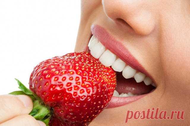 Овощи и фрукты, отбеливающие зубы - InVkus
