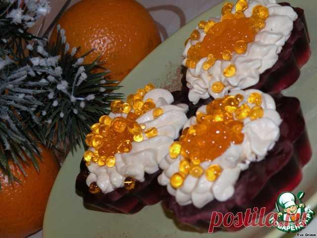 """Икра"" красная заморская на десерт"