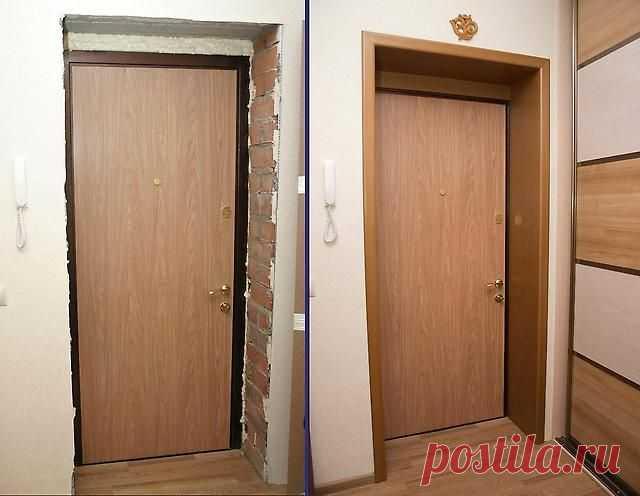 Как утеплить входную металлическую дверь