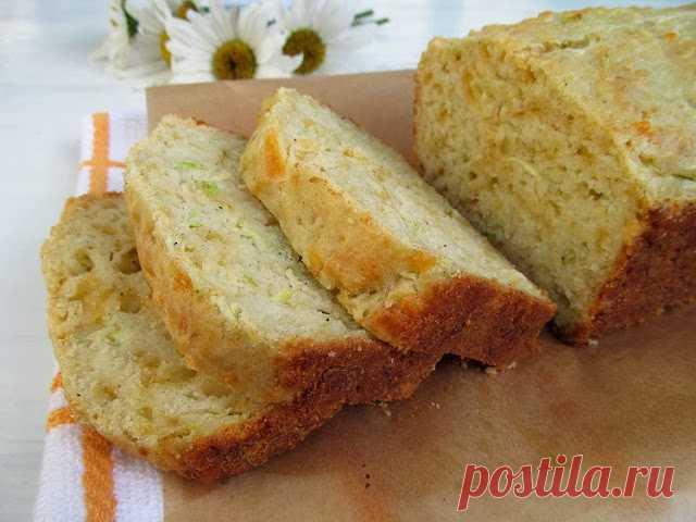 Постигая искусство кулинарии... : Сырно-кабачковый хлеб
