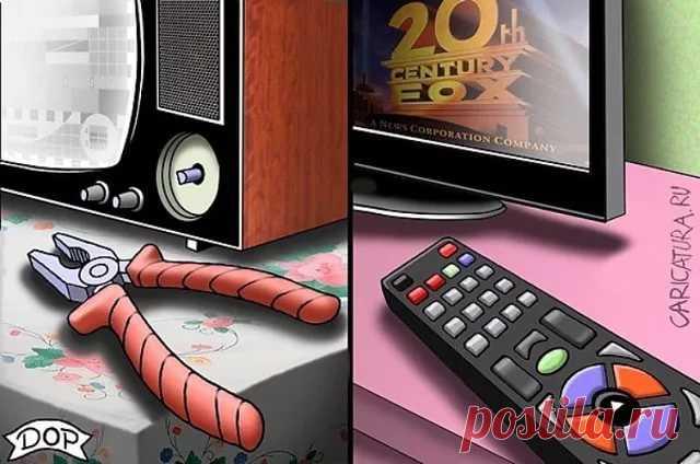 Картинки прикольные про телевизор