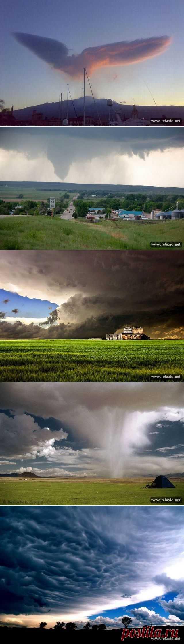Облака и тучи (89 фото) | Релаксик