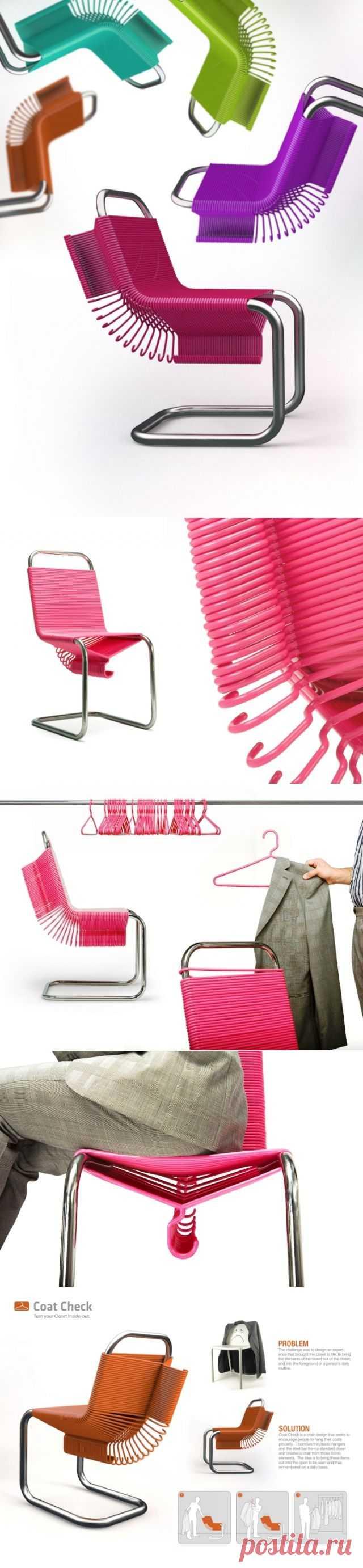 Стул-гардероб / Мебель / Модный сайт о стильной переделке одежды и интерьера