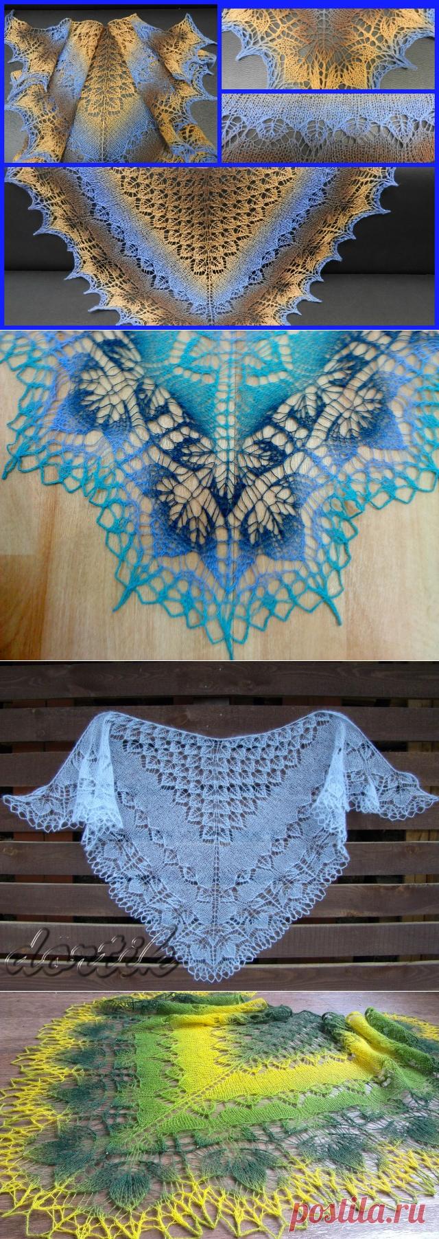 Майская шаль / May Shawl, дизайнер dortik