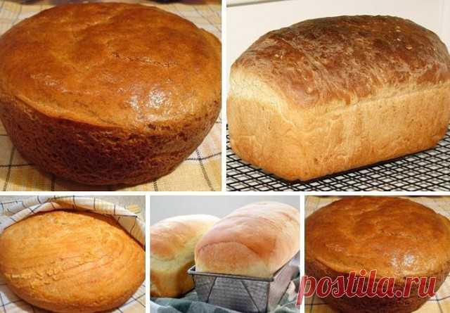 Хлеб «Домашний»   Предлагаю вашему вниманию самый простой рецепт хлеба. Готовится он очень легко, а получается такой вкусный! А какой аромат стоит во время выпечки!  Как я уже сказала, этот рецепт очень простой.   Из указанного количества ингредиентов получается 1 булка хлеба, весом около 600 г.   ИНГРЕДИЕНТЫ:  300 мл молока  7 г сухих дрожжей (или 30 сырых)  2 ч.л. сахара  3 ст.л. растительного масла (я использовала оливковое)  1 ч.л. соли  400–450 г муки   ПРИГОТОВЛЕНИЕ:...