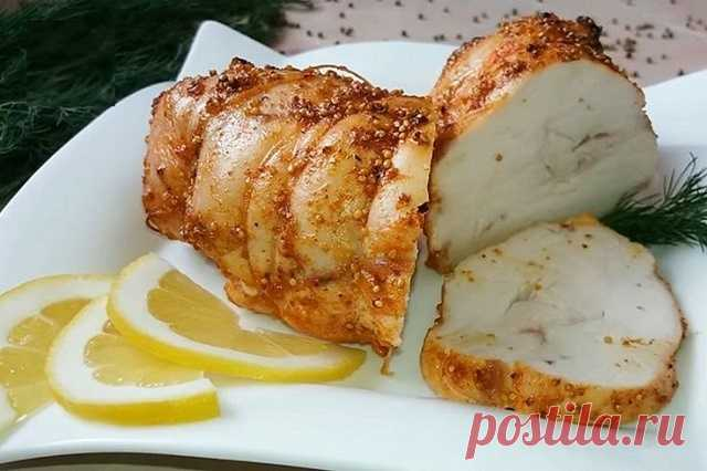 Пастрома из куриной грудки (навсегда забудете о колбасе). — МОЯ КУХНЯ