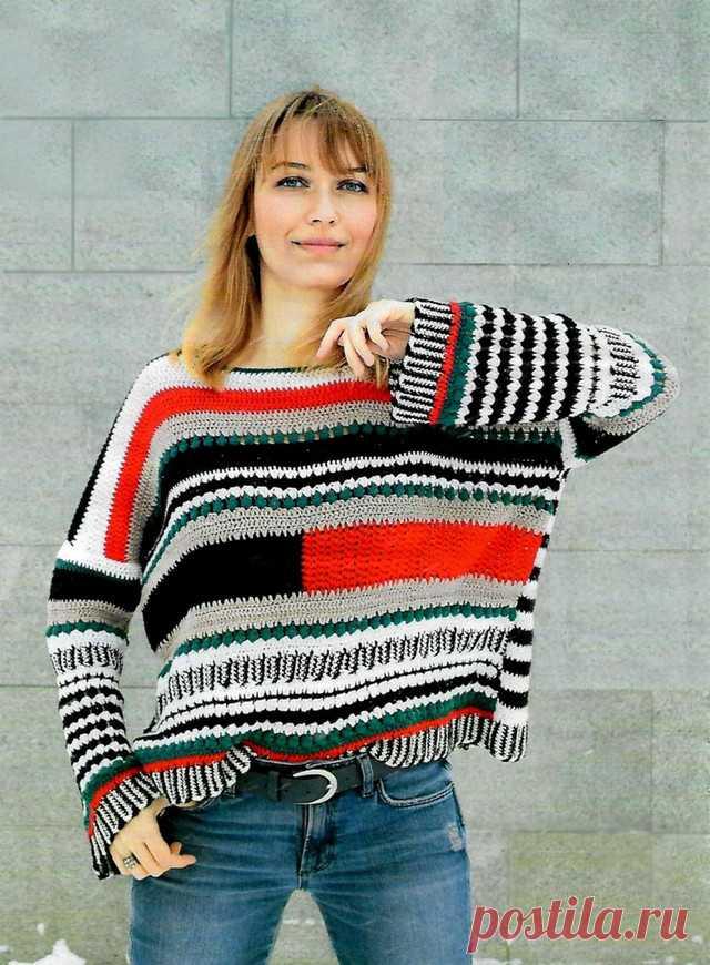"Пуловер ""Мультиколор"""