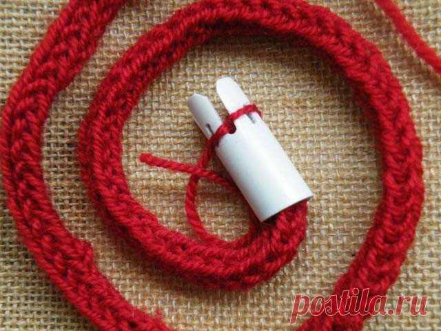 французское вязание приспособление для вязания шнура вязание