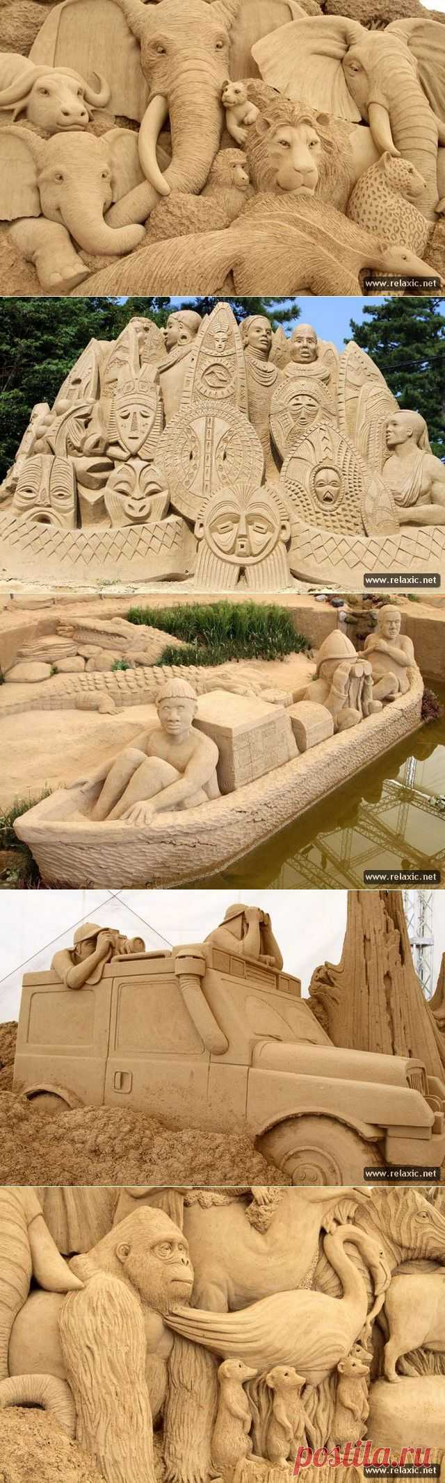 (+1) сообщ - Песчаные фигуры по-японски | МАСТЕРА