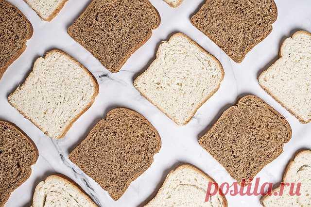 Белый или чёрный хлеб? Что выбрать и в чем разница - Мужской журнал JK Men's Иногда возникает необходимость пересмотреть свой рацион. Кто-то просто хочет похудеть, а другим людям это нужно в медицинских целях.