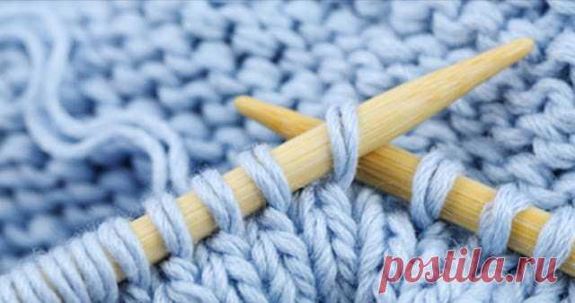 Как расшифровать вязание спицами