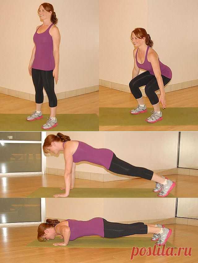 (+1) тема - 20 лучших упражнений для похудения   Диеты со всего света