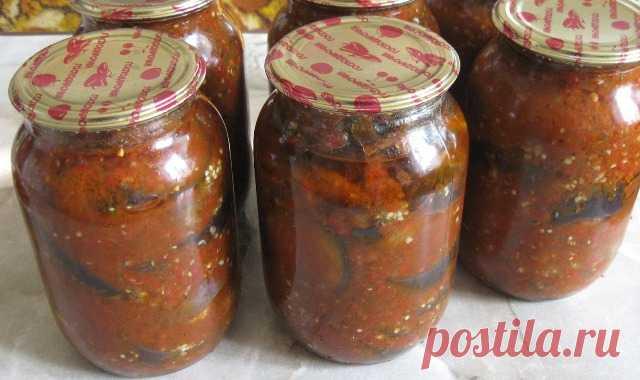 Салат з баклажанів на зиму – «Кобра»