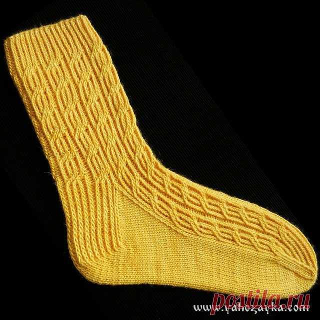 ажурные носки спицами схемы вязание красивых носков спицами я