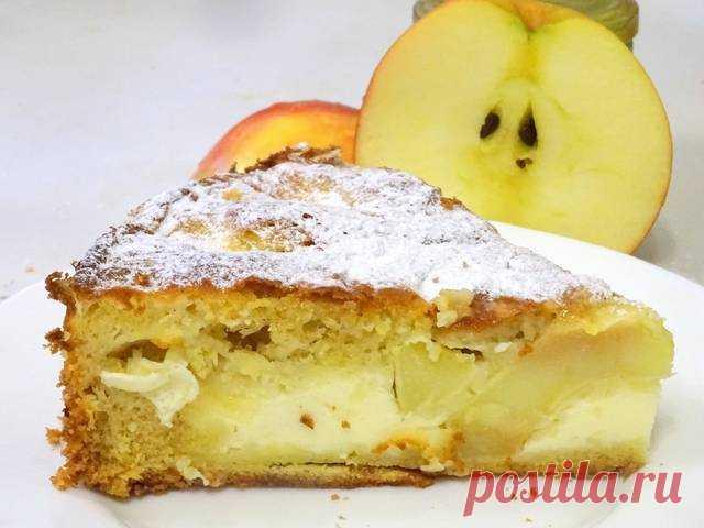 Нежнейший яблочный пирог с заливкой Автор рецепта Любовь Завьялова - Cookpad