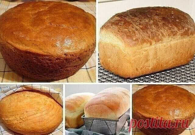 Предлагаю вашему вниманию самый простой рецепт хлеба. Готовится он очень легко, а получается такой вкусный! А какой аромат стоит во время выпечки!  Как я уже сказала, этот рецепт очень простой.   Из указанного количества ингредиентов получается 1 булка хлеба, весом около 600 г.   ИНГРЕДИЕНТЫ:  300 мл молока  7 г сухих дрожжей (или 30 сырых)  2 ч.л. сахара  3 ст.л. растительного масла (я использовала оливковое)  1 ч.л. соли  400–450 г муки   ПРИГОТОВЛЕНИЕ:  Ша...