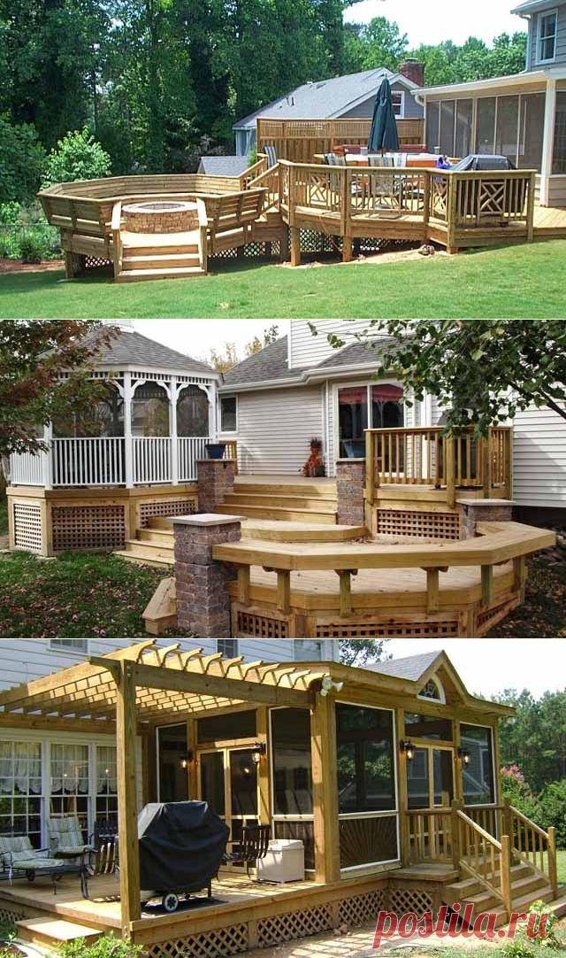 La Terraza Hermosa En La Casa De Campo 40 Proyectos Para La