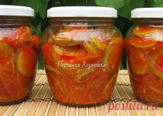 Кабачки в кетчупе чили на зиму - 6 вкусных рецептов.