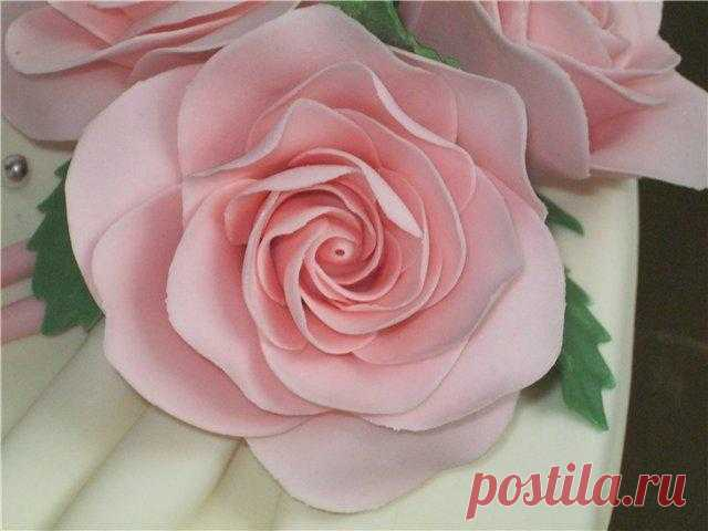 Съедобные розы из жевательных конфет «Мамба»
