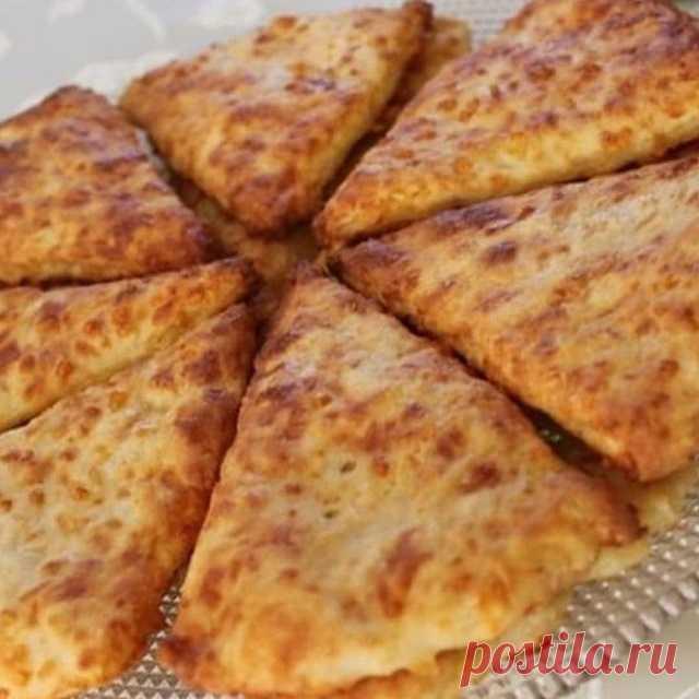 Сырные лепешки с зеленью на сметане — СОВЕТ !!!