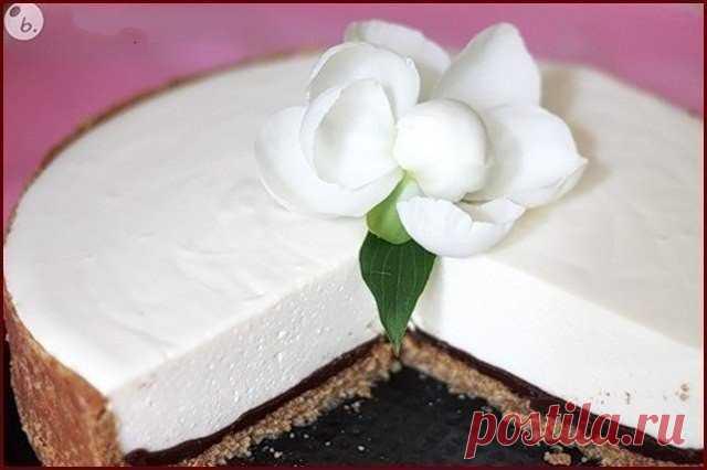 Воздушный творожный торт с шоколадом - Все обо Всем