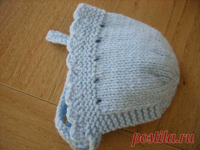 Капор для новорожденного
