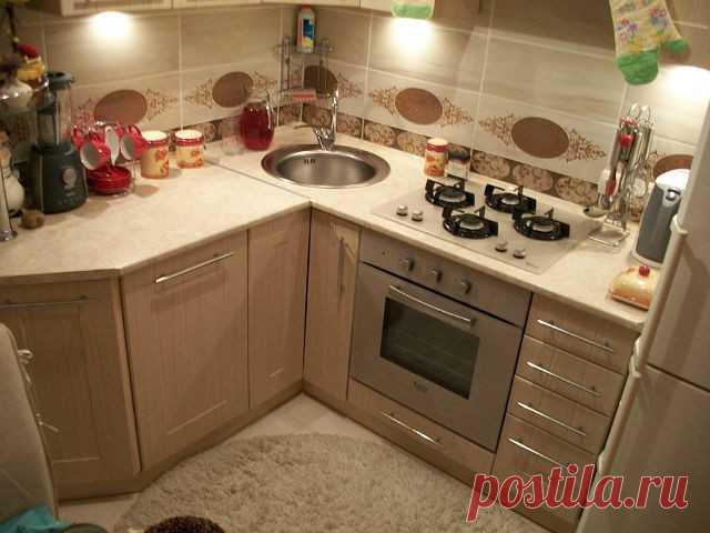 кухонный гарнитур для маленькой кухни как сделать правильный выбор