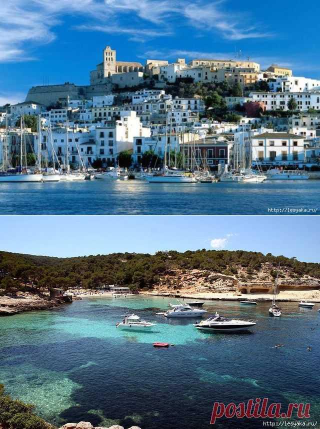 Самые красивые острова Испании. От Тенерифе до Ибицы..