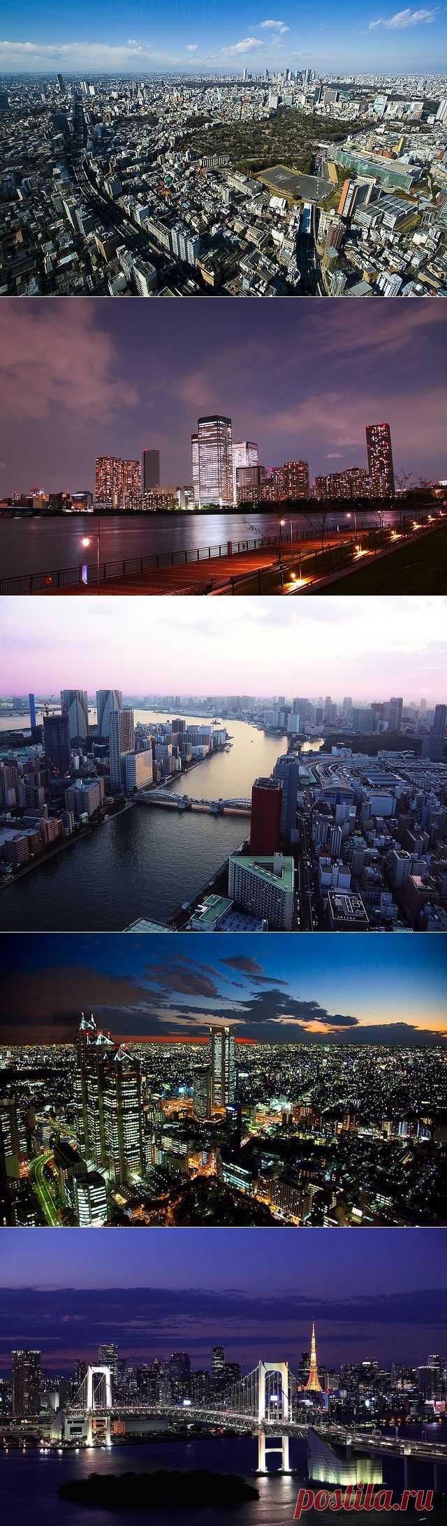 Город Токио Япония - фото города