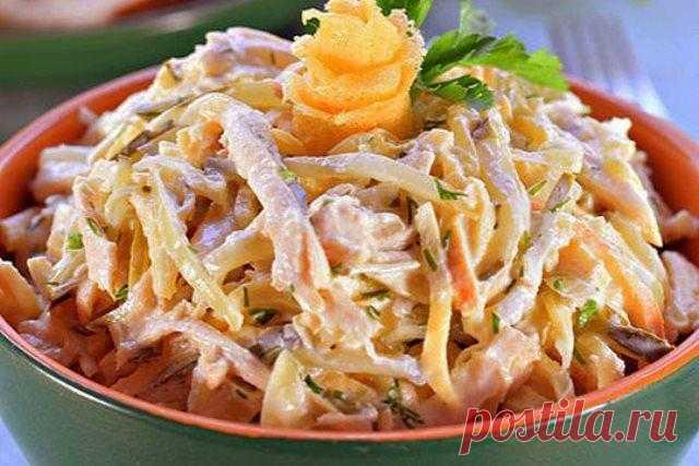 Этот салат уделал «Шубу» и «Оливье». Салат оригинальный «Загадка» - pro100retepti.ru
