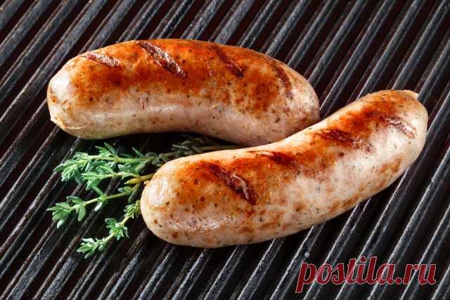 Домашняя колбаска запеченная в фольге