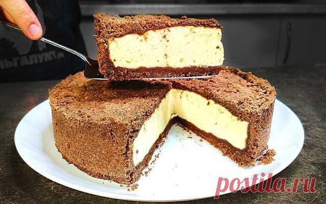 БЕСПОДОБНЫЙ десерт из творога, ДАЖЕ тесто замешивать не надо! — ГАРМОНИЯ В СЕБЕ