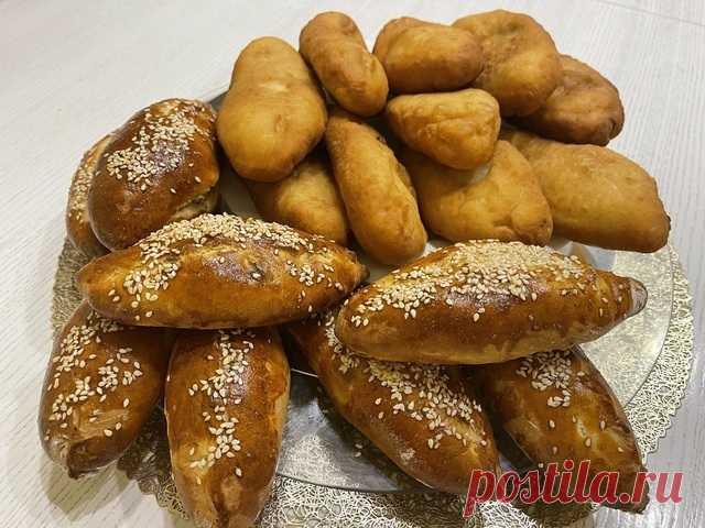 Пирожки как пух, тесто за 5 минут, постное тесто – пошаговый рецепт с фотографиями