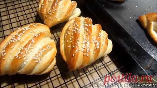 Пирожки с мясом а-ля самса - невероятно, вкусно и красиво