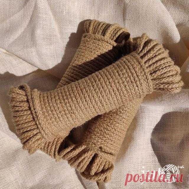 Шнур джутовый плетеный