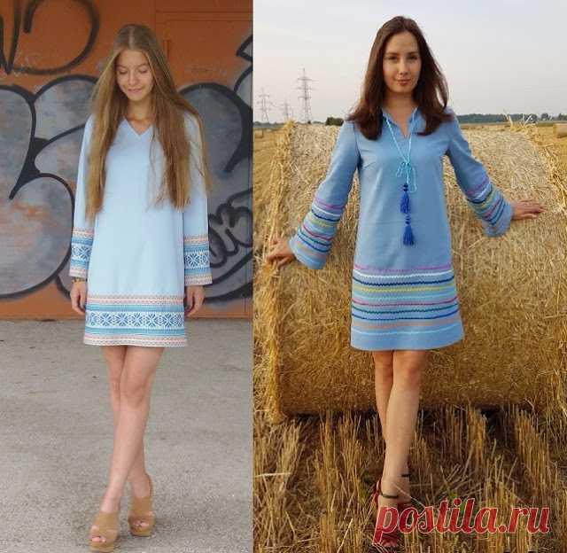 d3f0fa299ff Шьем простые красивые платья в этно-стиле. Мастер-классы