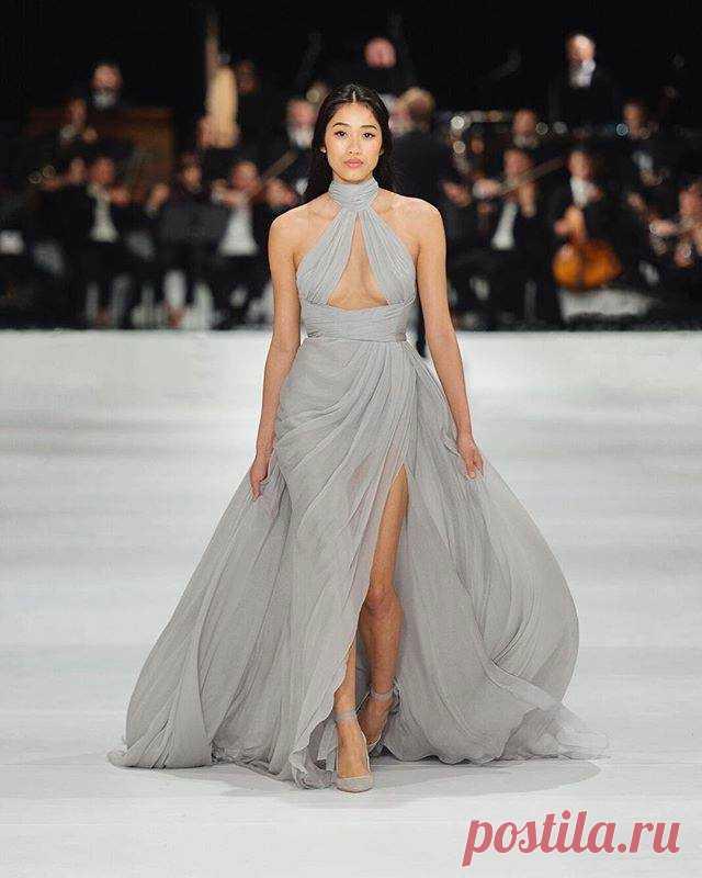 История создания одного из платьев Paolo Sebastian Модная одежда и дизайн интерьера своими руками