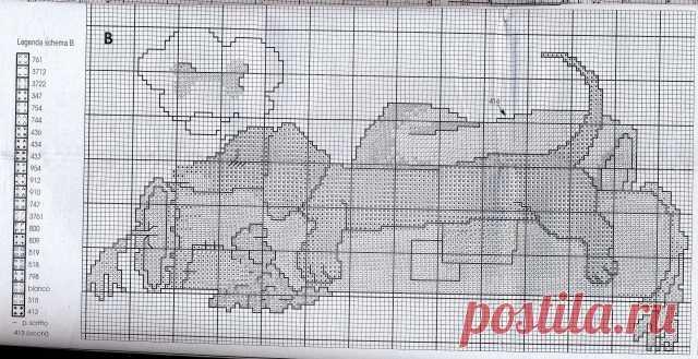 схемы животные для филейного вязания клубканет все о вязании